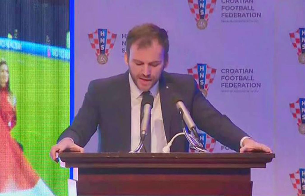 Slaven Marasović na Skupštini
