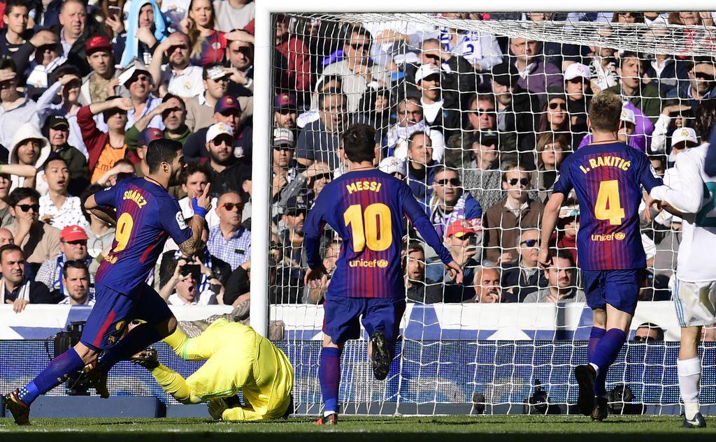 Luis Suarez zabio Realu (Foto: AFP)