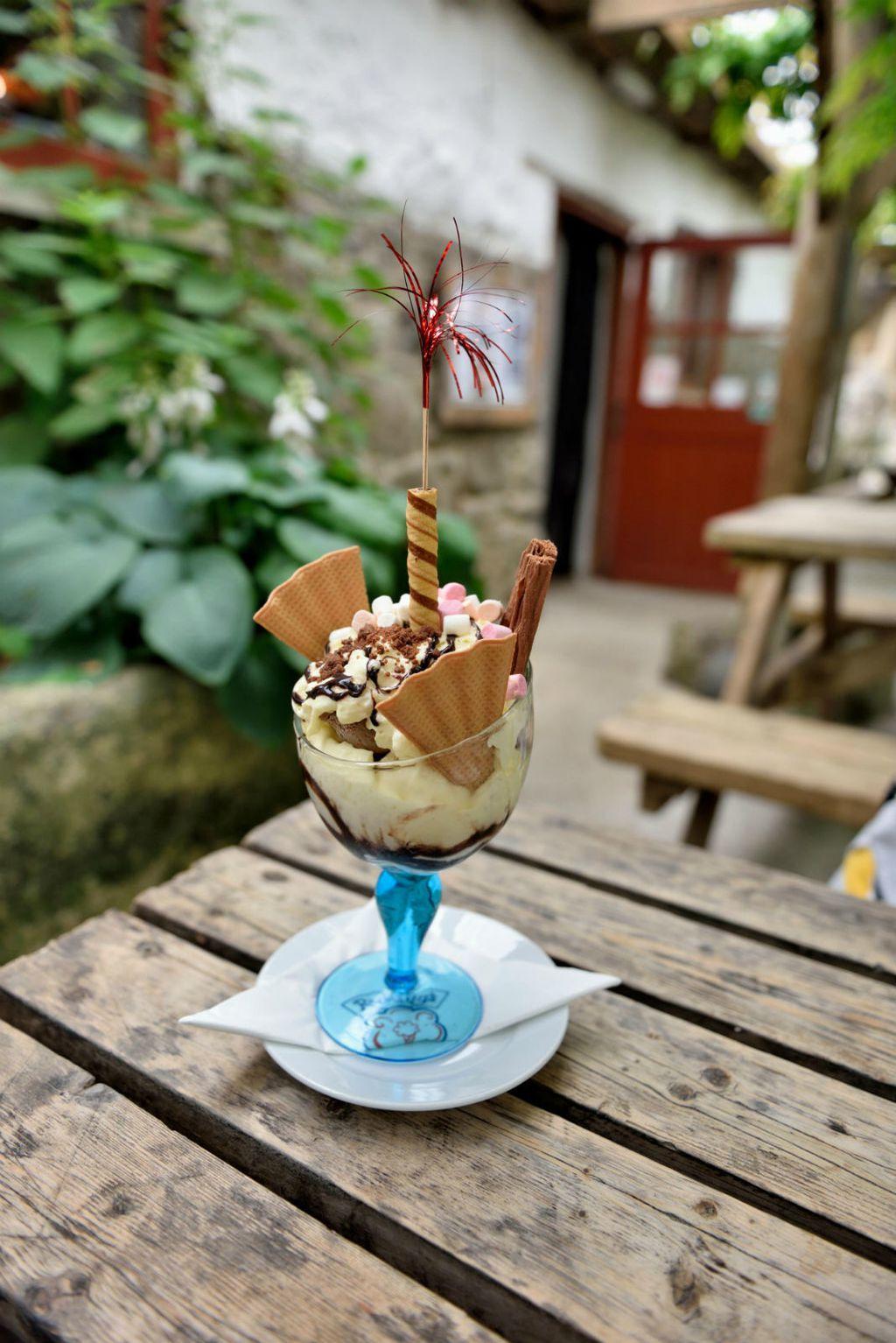Ulaz na farmu Roskilly je besplatan, ali ne i njihov poznati sladoled