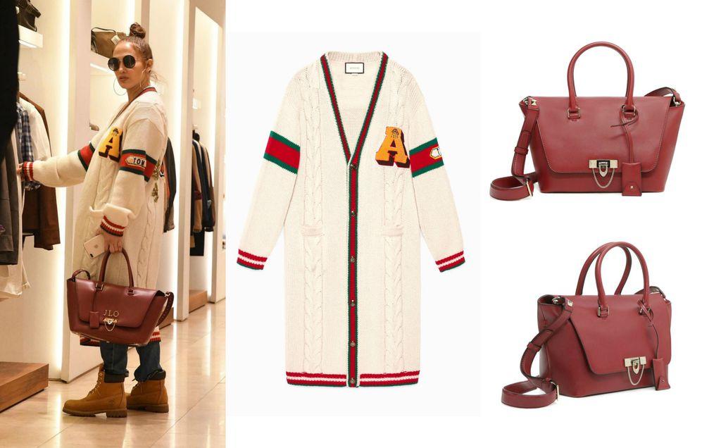 Jennifer u Gucci vesti i s Valentino torbom