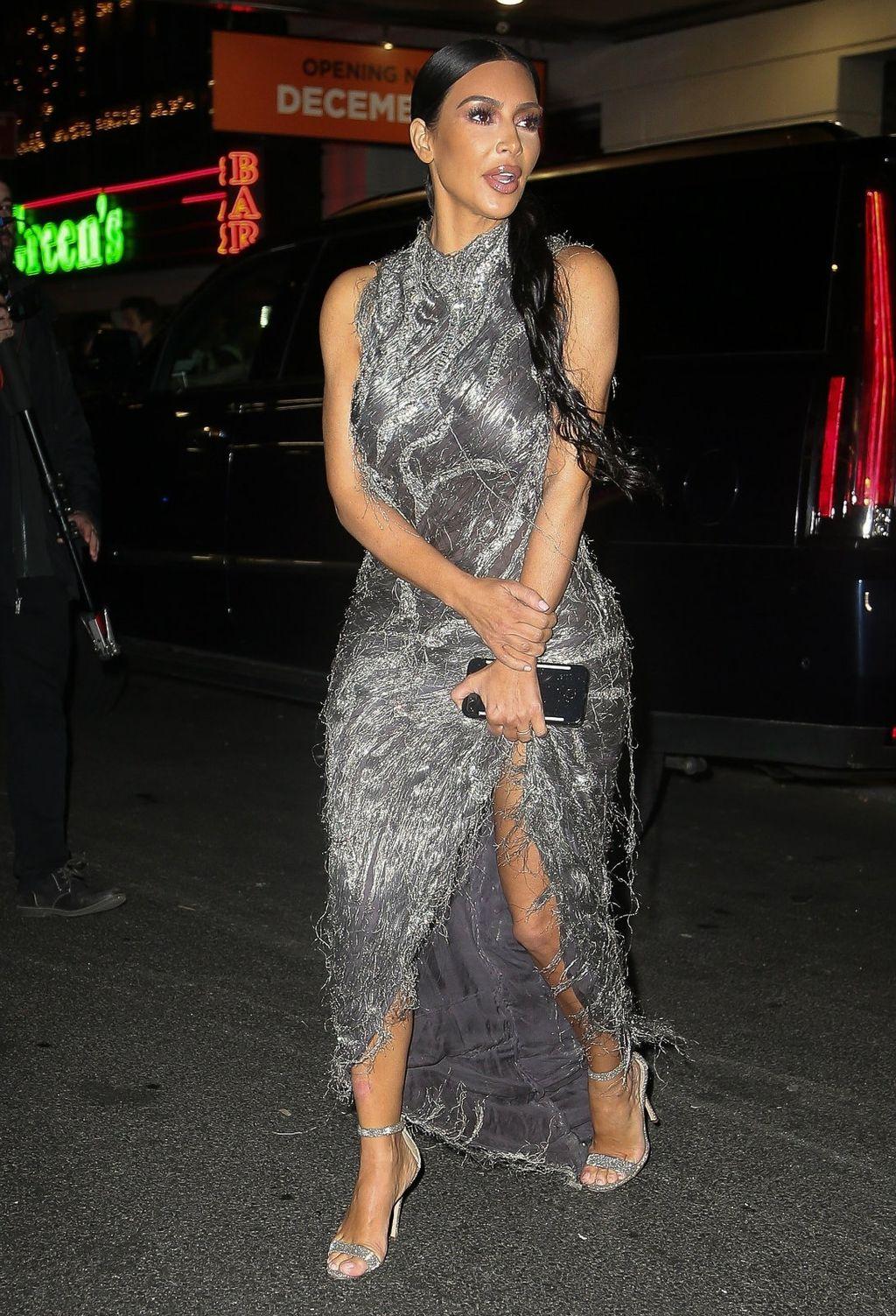 Kim u haljini modne kuće Versace