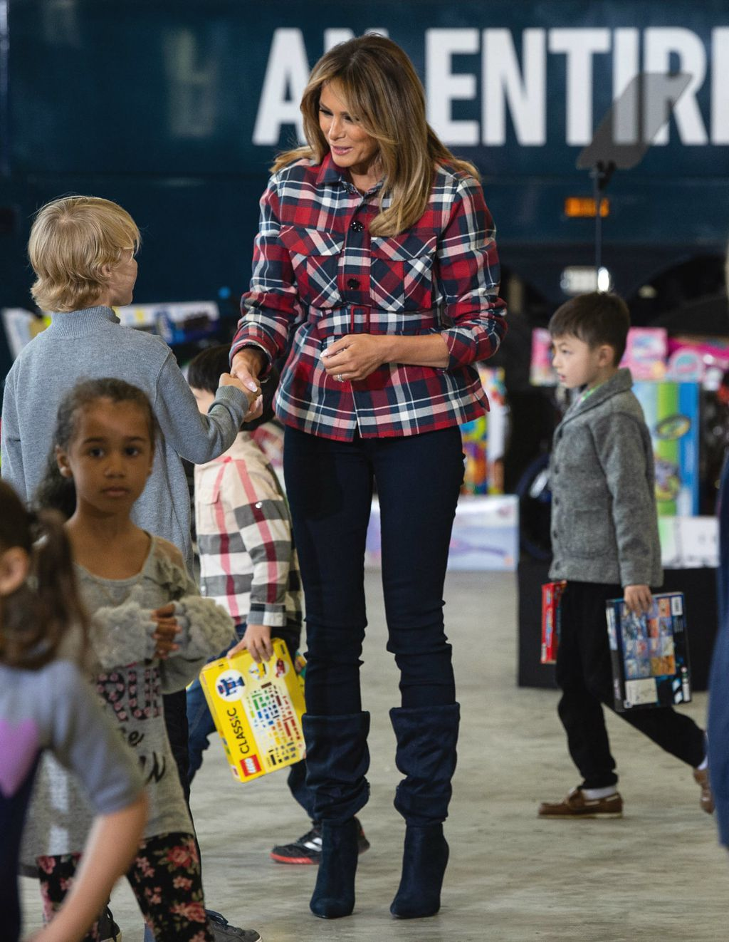 Melania Trump u vojnoj bazi u Washingtonu - 2