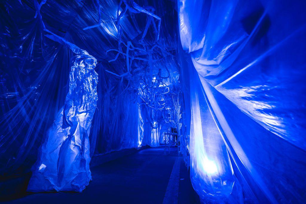 Tunel Grič za Advent je uređen kao imaginarni dvorac iz zaleđene bajke - 11