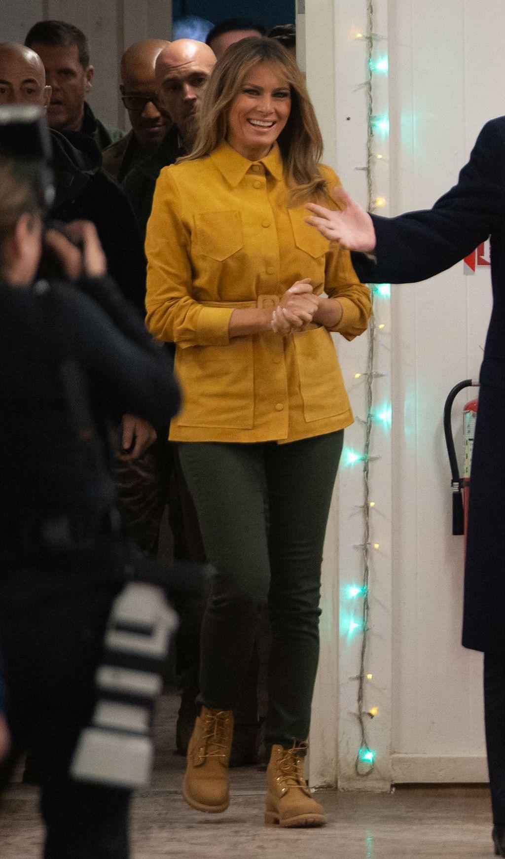 Melania Trump u kultnim čizmama - 2