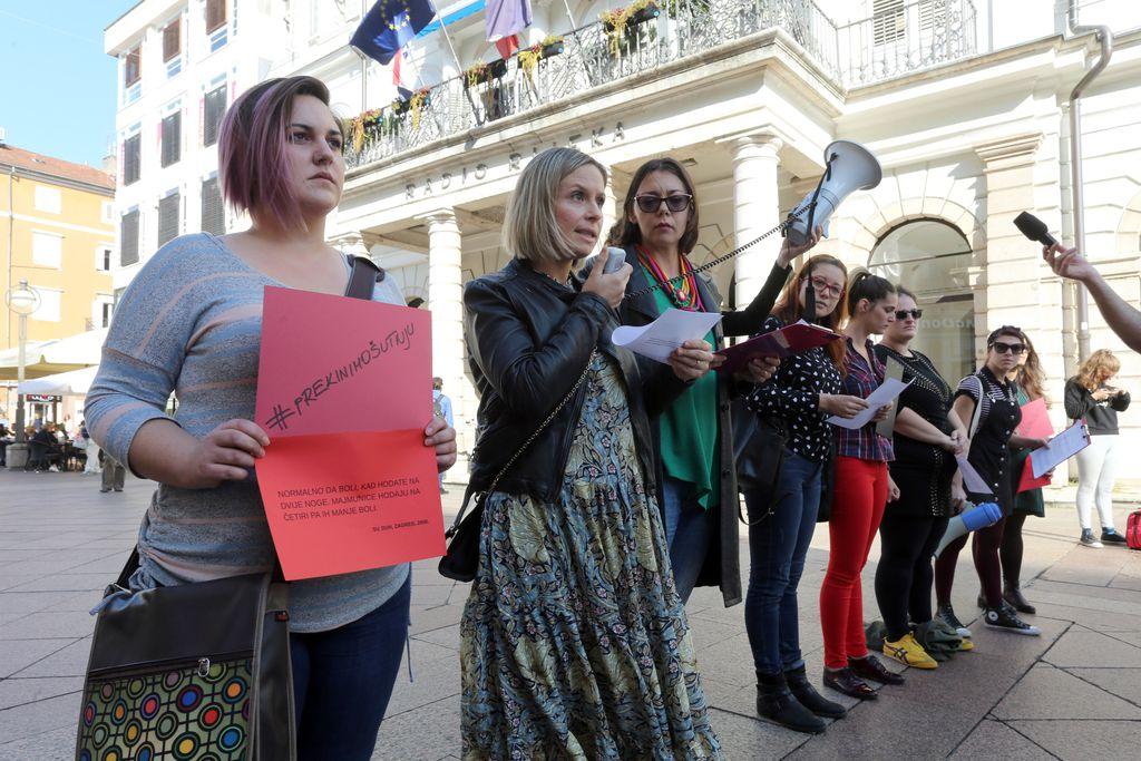 Akcija Prekinimo šutnju proširila se Hrvatskom