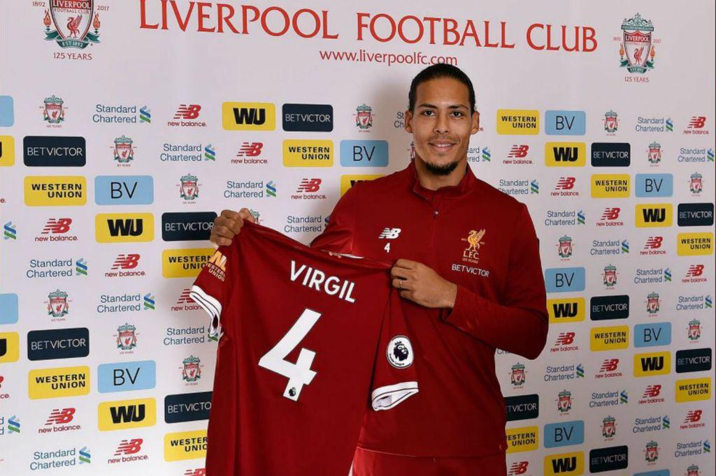 Virgil Van Dijk (Foto: Twitter)