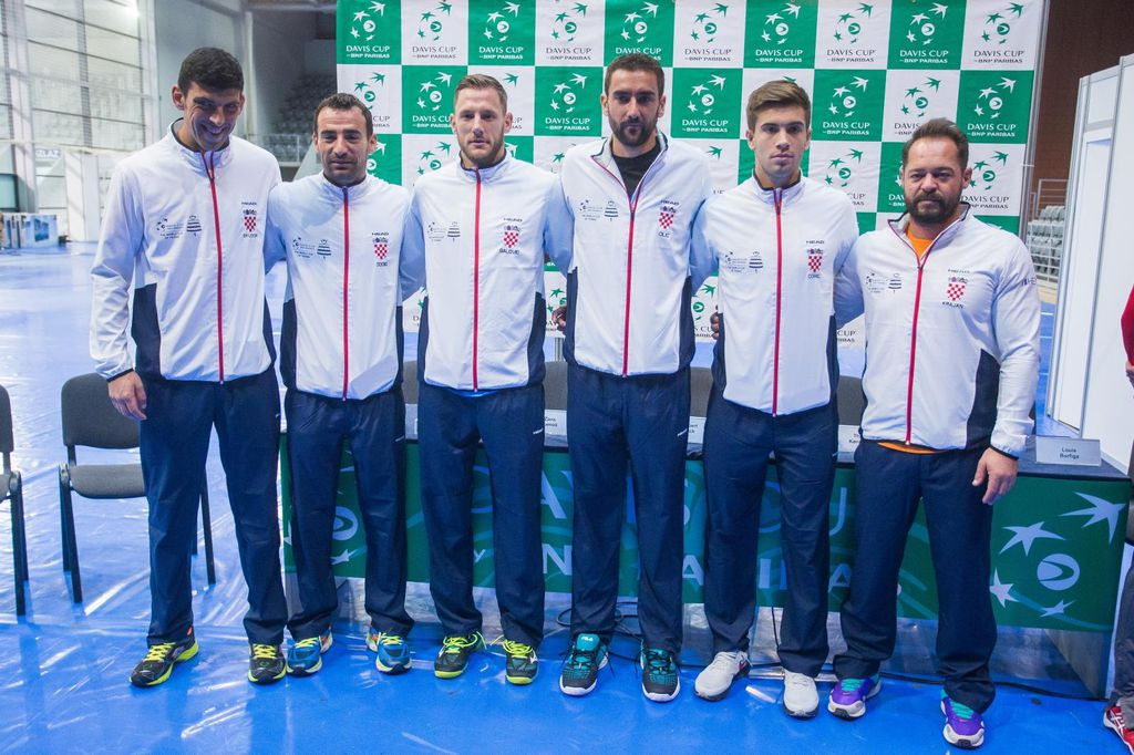 Hrvatska Davis Cup reprezentacija (Foto: Davor Javorovic/PIXSELL)