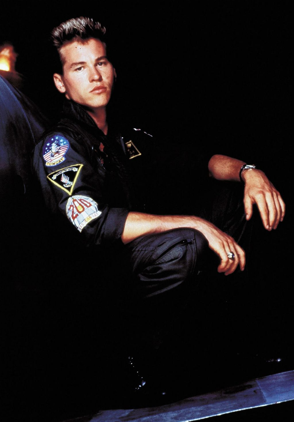 Val Kilmer 1986. godine u filmu \'Top Gun\'
