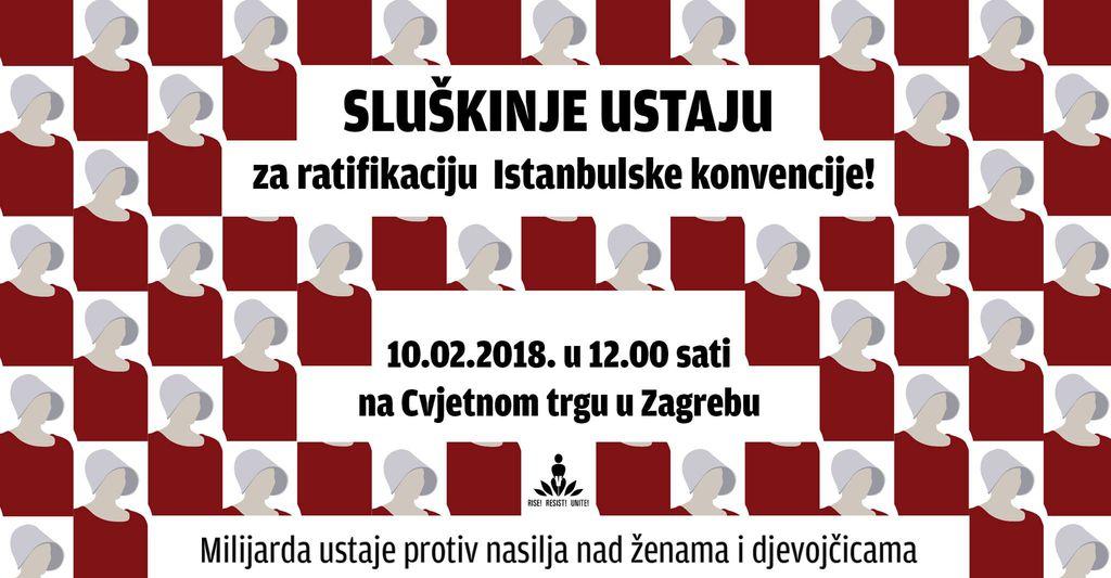 Skup se održava 10. veljače na zagrebačkom Cvjetnom trgu u 12 sati
