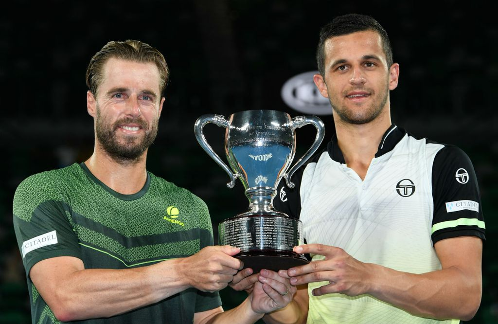 Oliver Marach i Mate Pavić (Foto: AFP)
