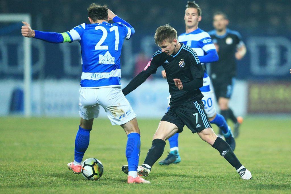 Osijek - Dinamo (Foto: Davor Javorovic/PIXSELL)