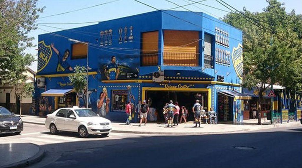Suvenirnica Boca Juniorsa
