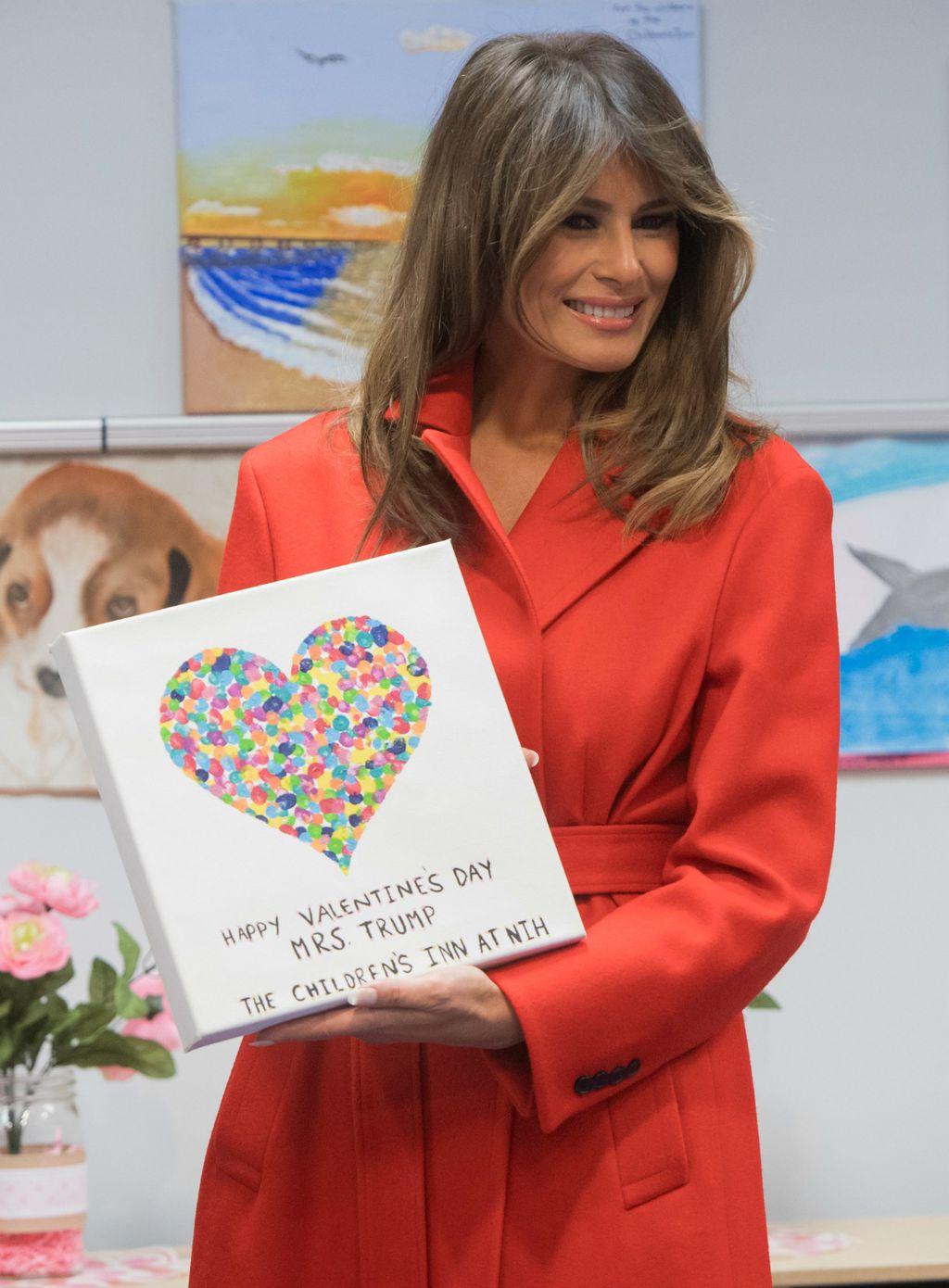 Prva dama dobila je posebnu čestitku za Valentinovo