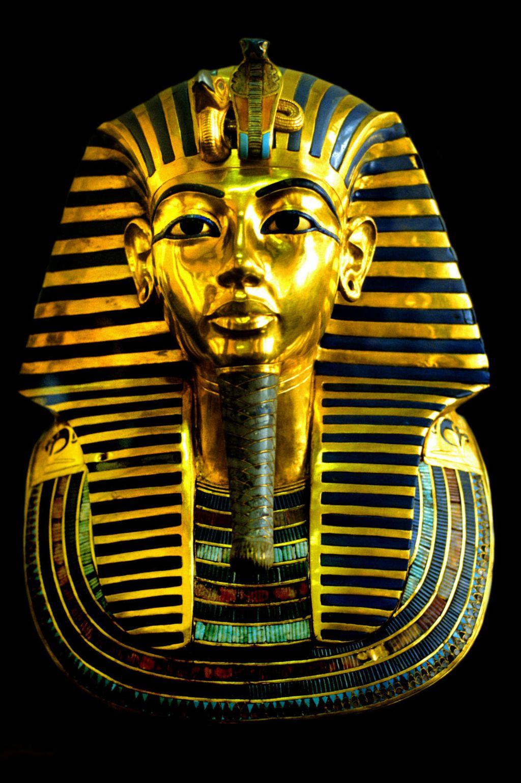 Zlatna pogrebna maska faraona Tutankamona