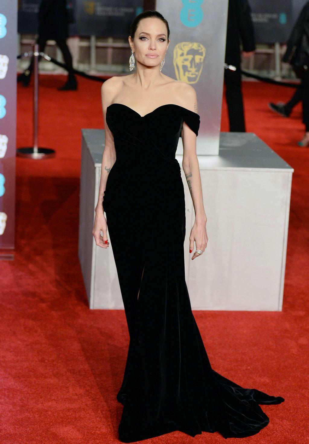 Angelina Jolie na dodjeli nagrada BAFTA