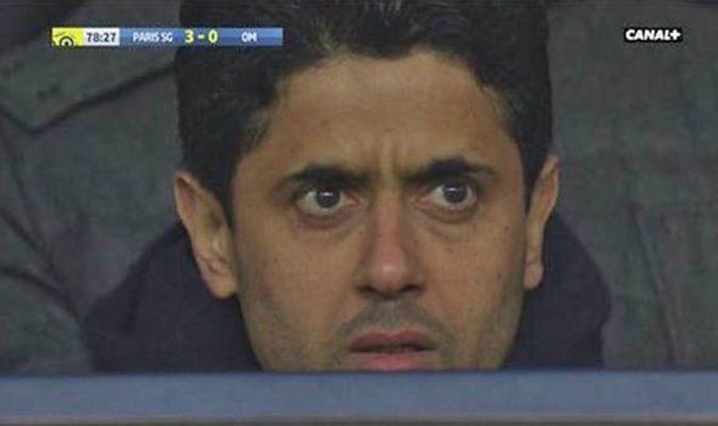 Nasser Al-Khelaifi nakon ozljede Neymara (Screen shot Youtube.com)