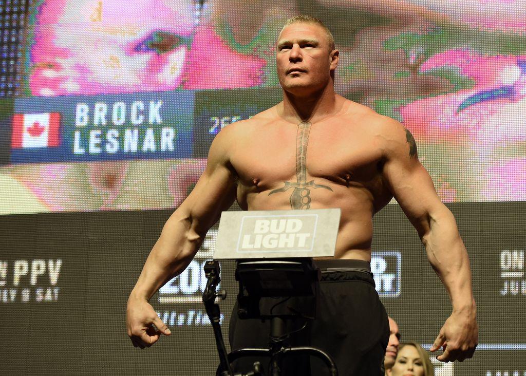 Brock Lesnar (Foto: AFP)