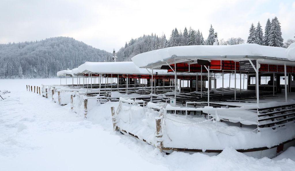 Plitvička jezera pod snijegom - 2