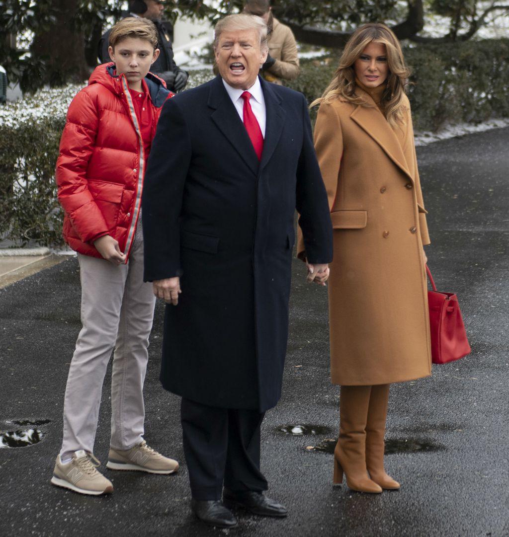 Melania Trump u čizmama koje lako ukradu svu pažnju - 3