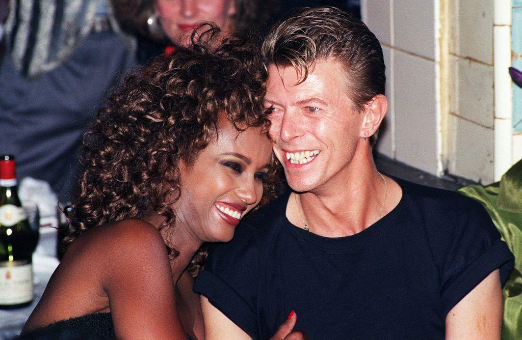 Iman i David Bowie 1991. godine