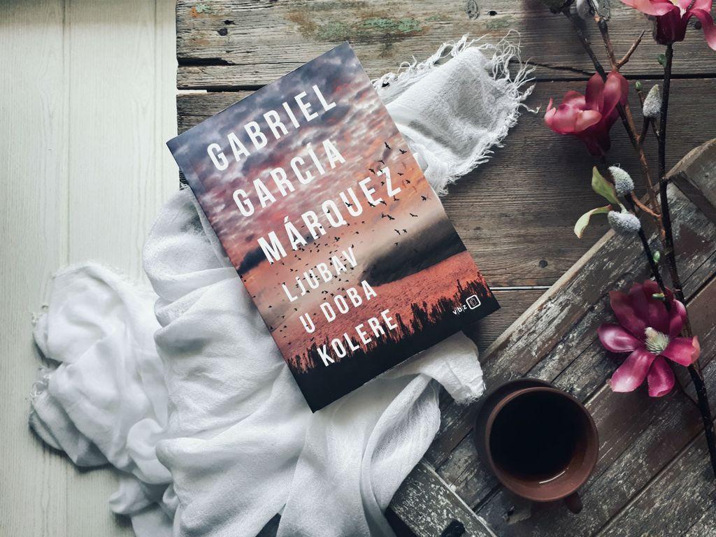 Naslovnica knjige Ljubav u doba kolere