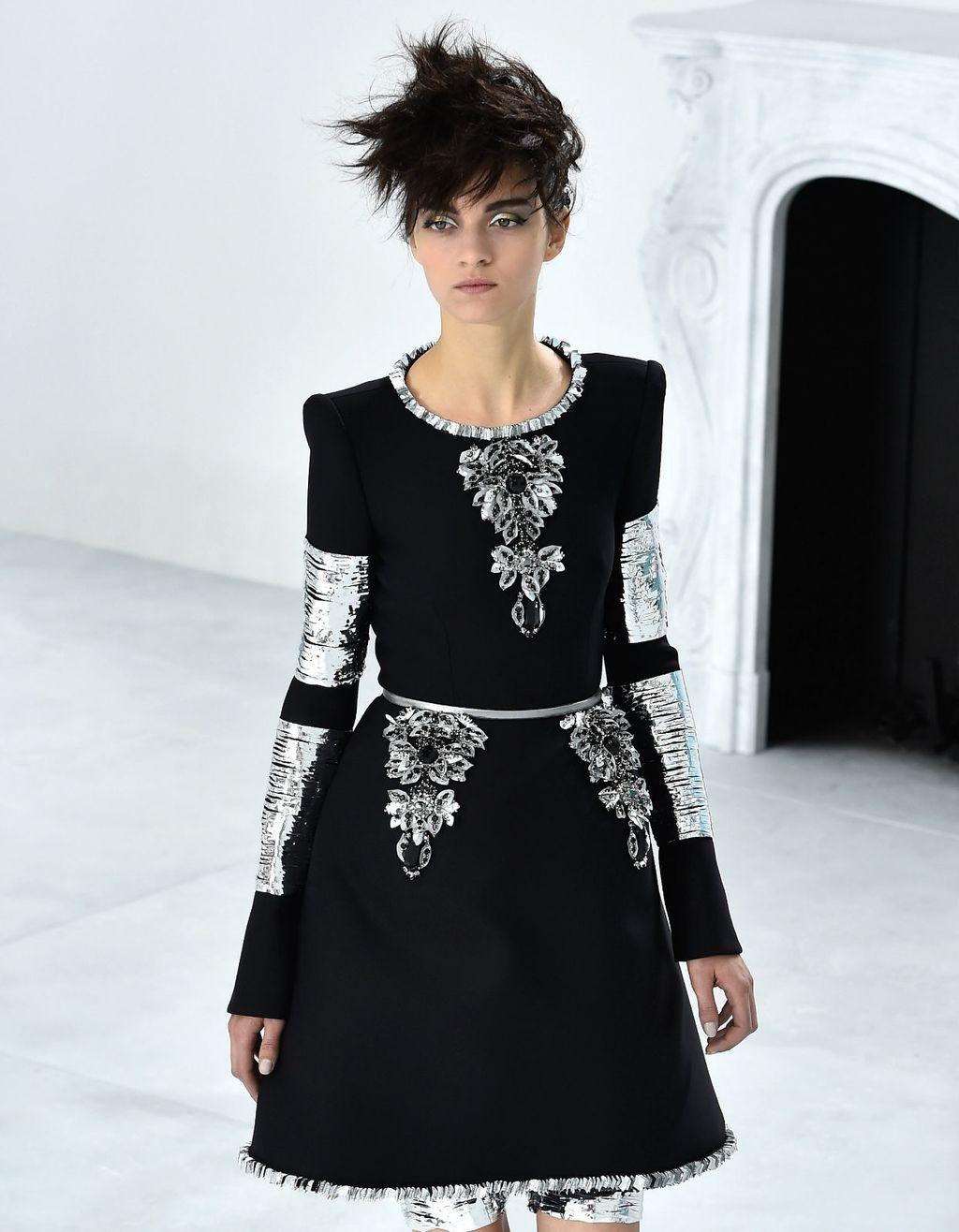 Male crne haljine Karla Lagerfelda za modnu kuću Chanel - 3
