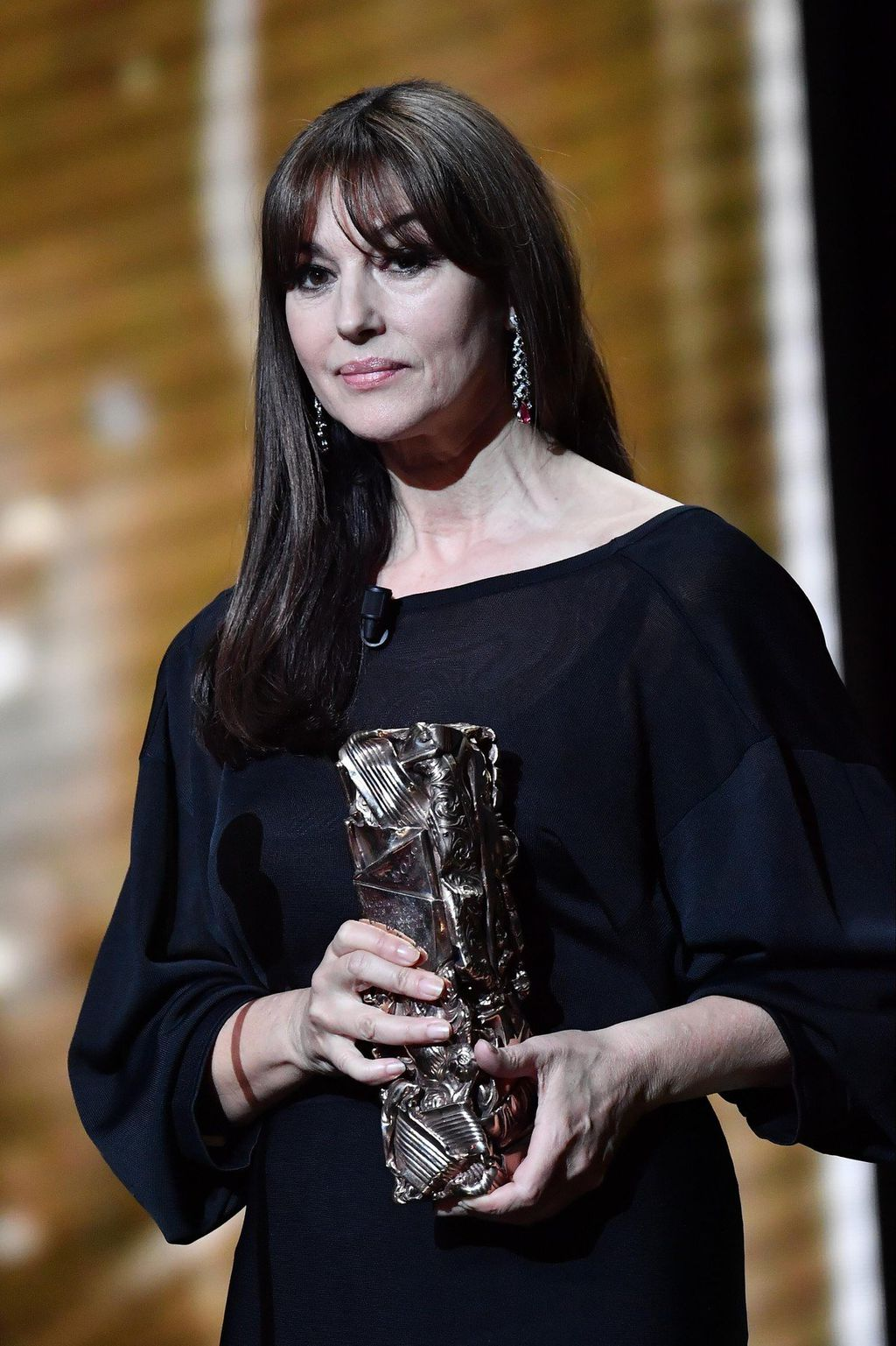 Monica je bila jedna od prezenterica na dodjeli nagrade Cesar