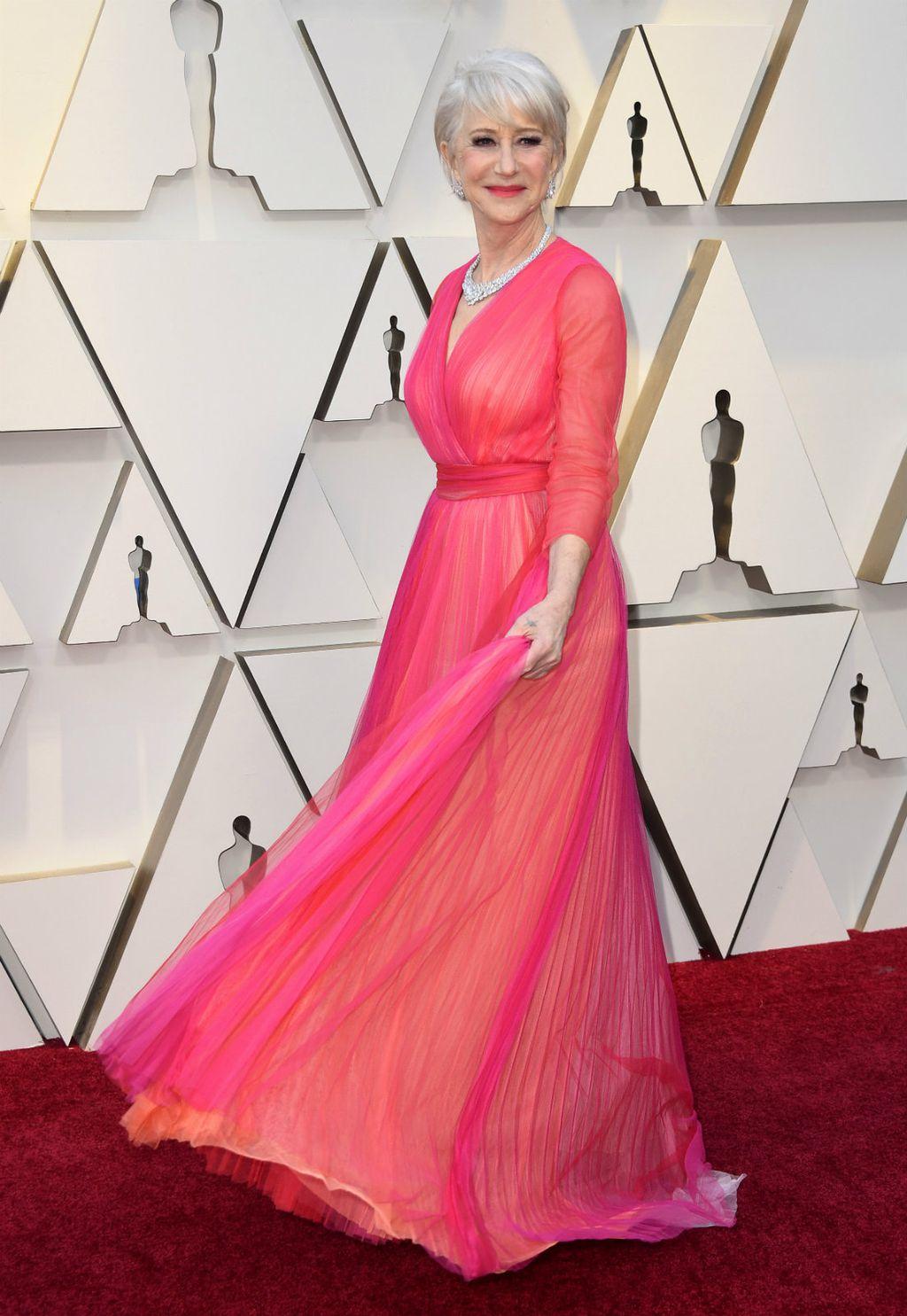 Helen Mirren u haljini modne kuće Schiaparelli