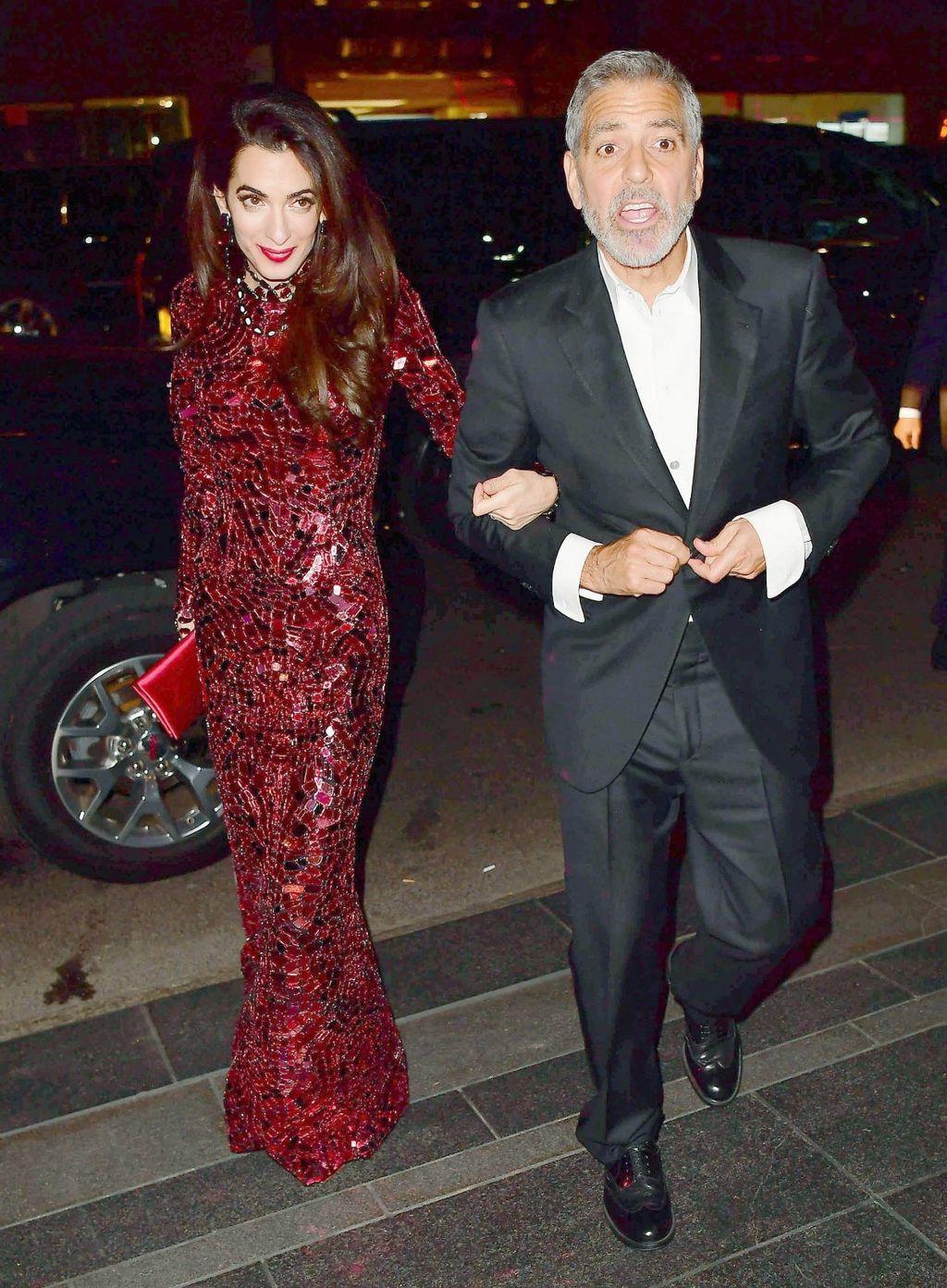 Amal u haljini Toma Forda nakon Met Gale 2018. godine