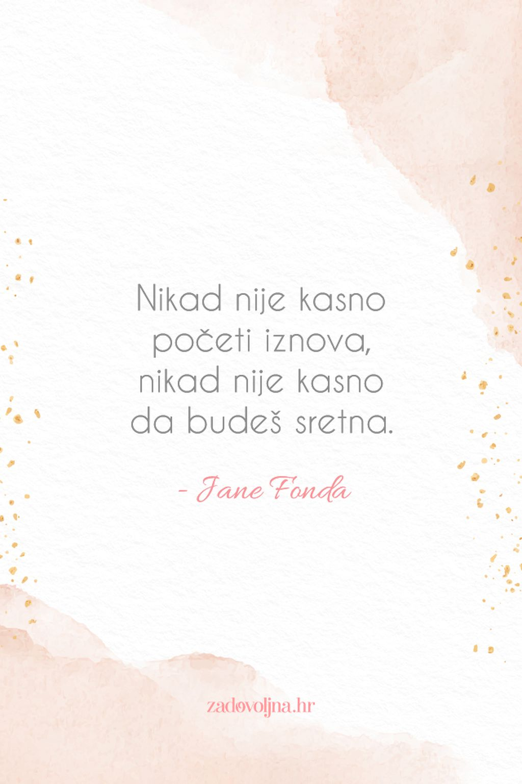Životne mudrosti Jane Fonde - 5