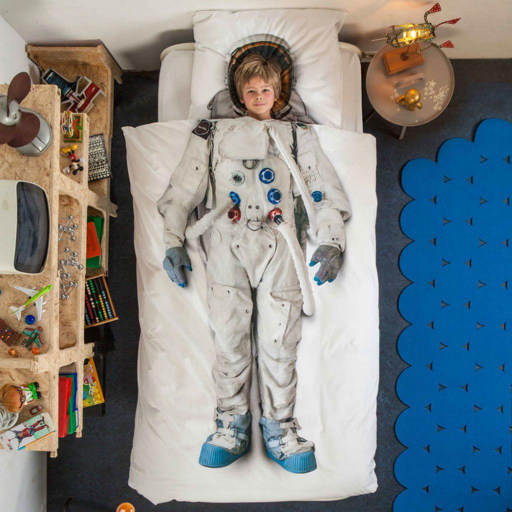 Dječja posteljina u kojoj se klinci pretvaraju u vile, astronaute i druge junake - 7