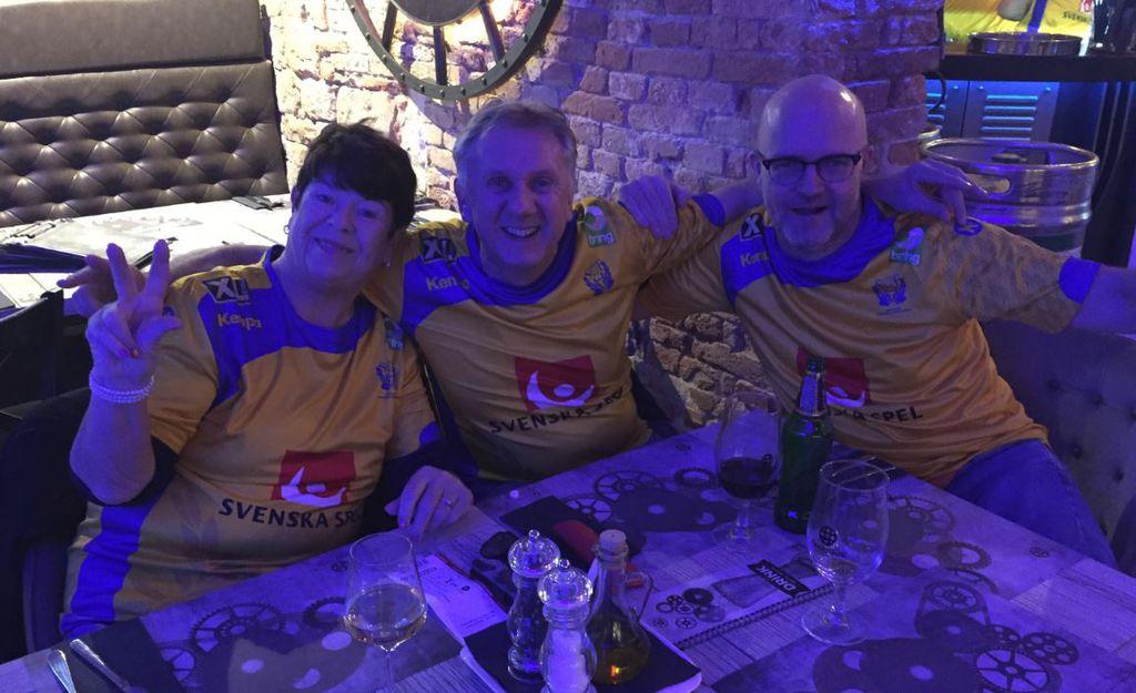 Švedski navijači
