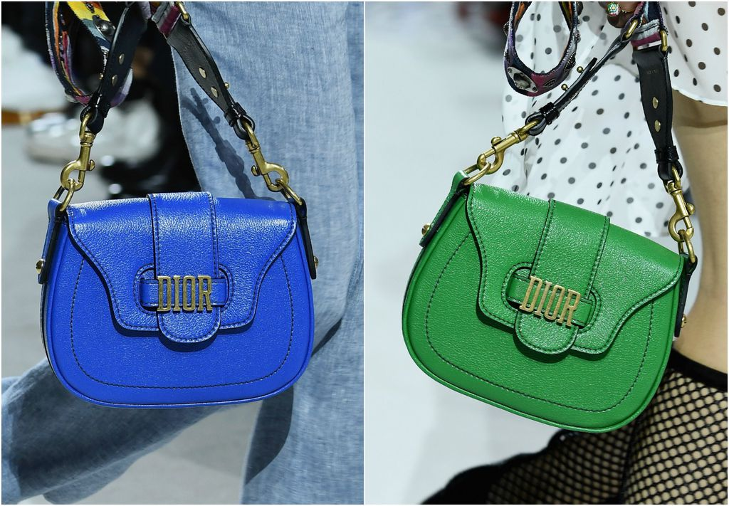 Modeli modne kuće Dior u upečatljivim bojama