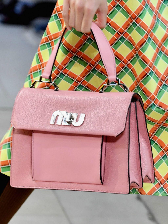 Damska retro ručna torbica modne kuće Miu Miu