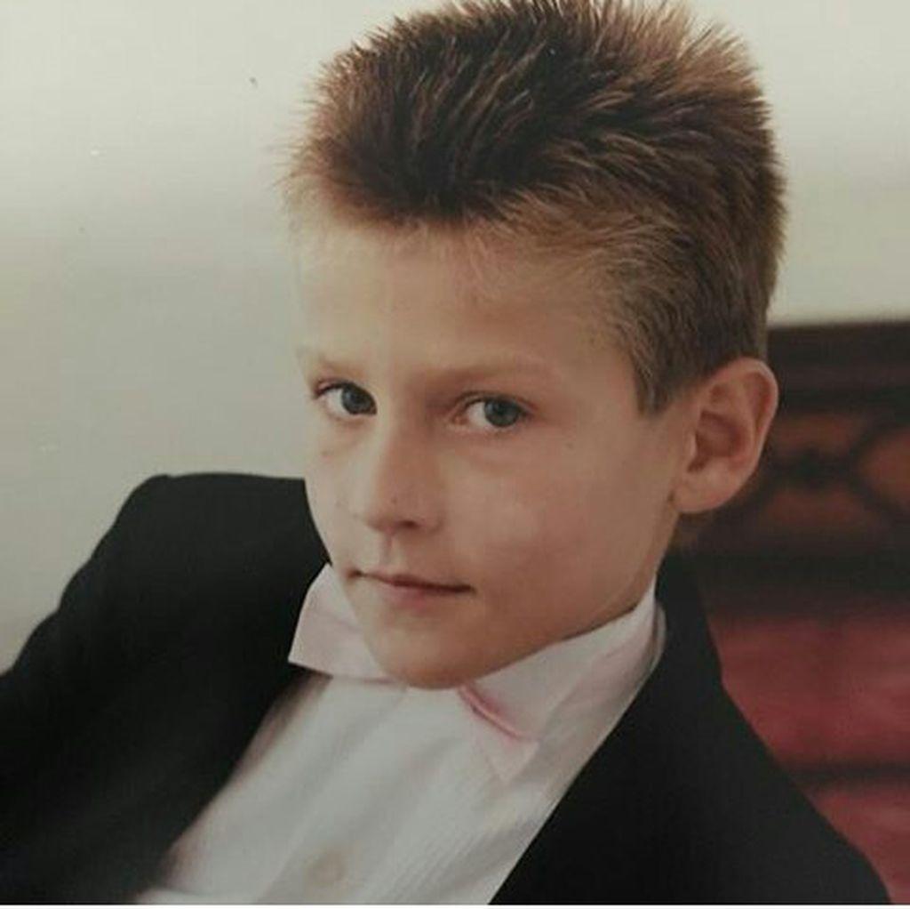 Stipe Miočić kao dječak (Obiteljski album Bojana Miočića)