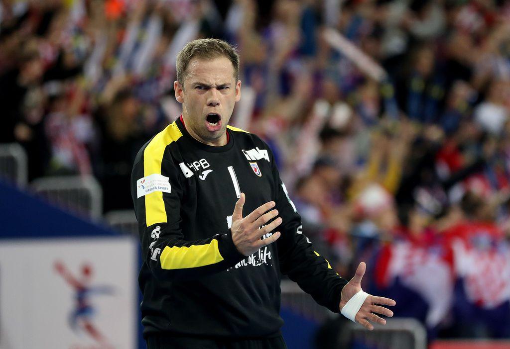 Stevanović brani udarac Norvežana (Foto: Igor Kralj/PIXSELL)