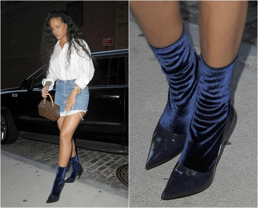 Rihanna u Balenciaga čizmicama s efektom slomljene potpetice