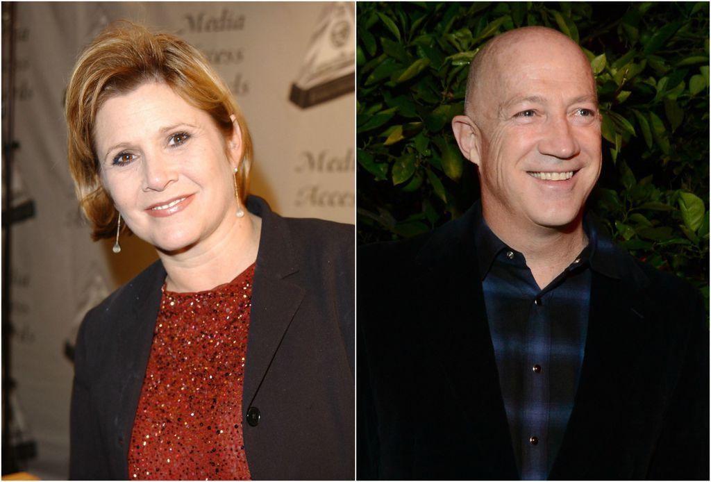 Carrie Fisher i Bryan Lourd bili su zajedno četiri godine