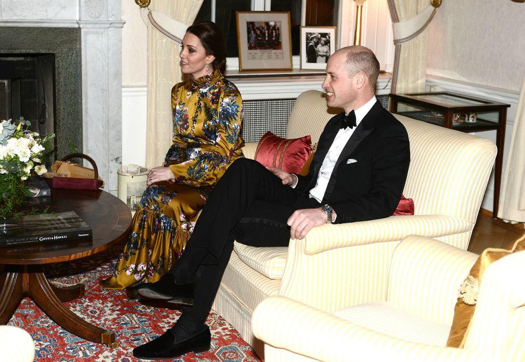 Catherine i William uoči prijma