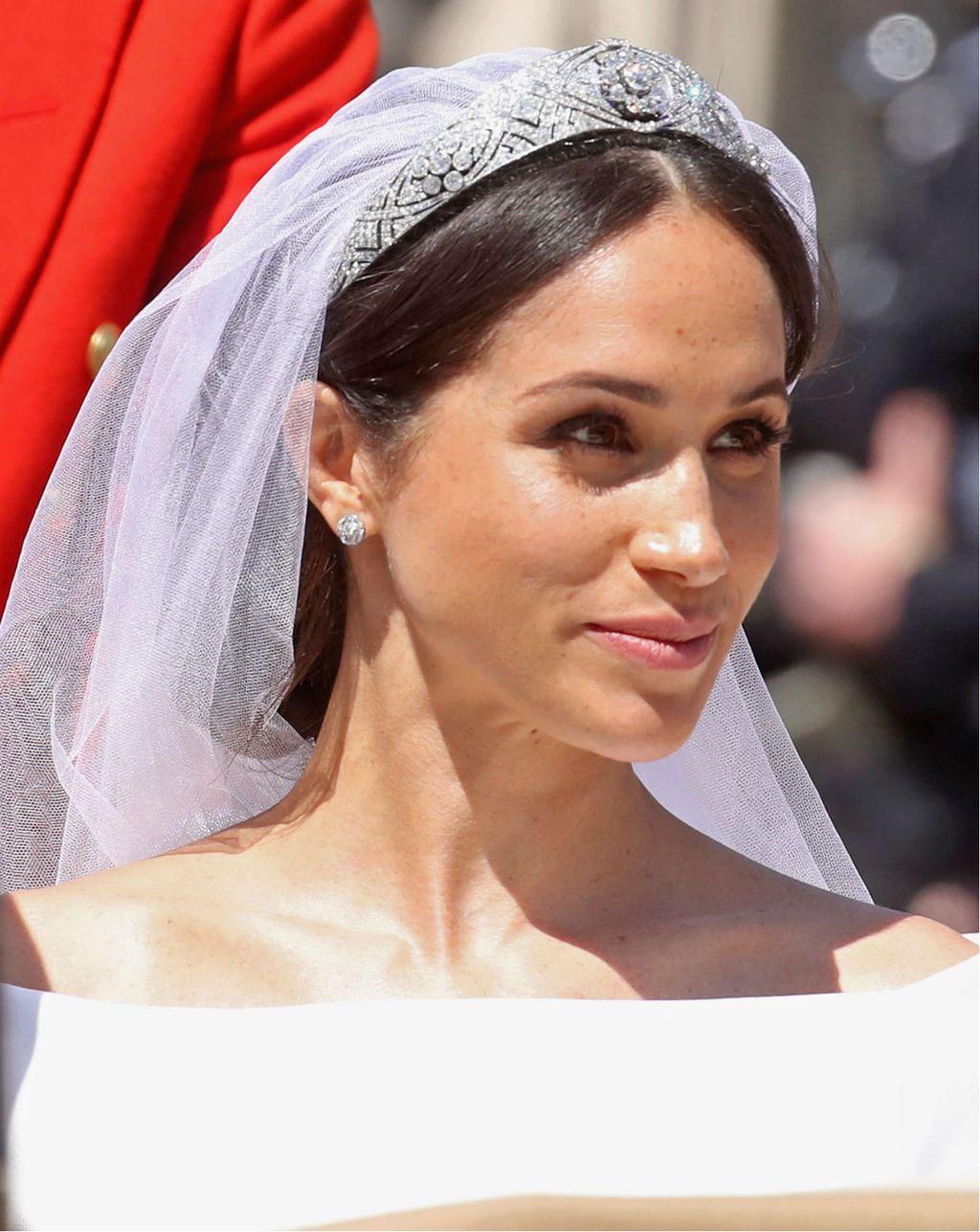 Na svom vjenčanju Meghan Markle oduševila je jednostavnim make-upom