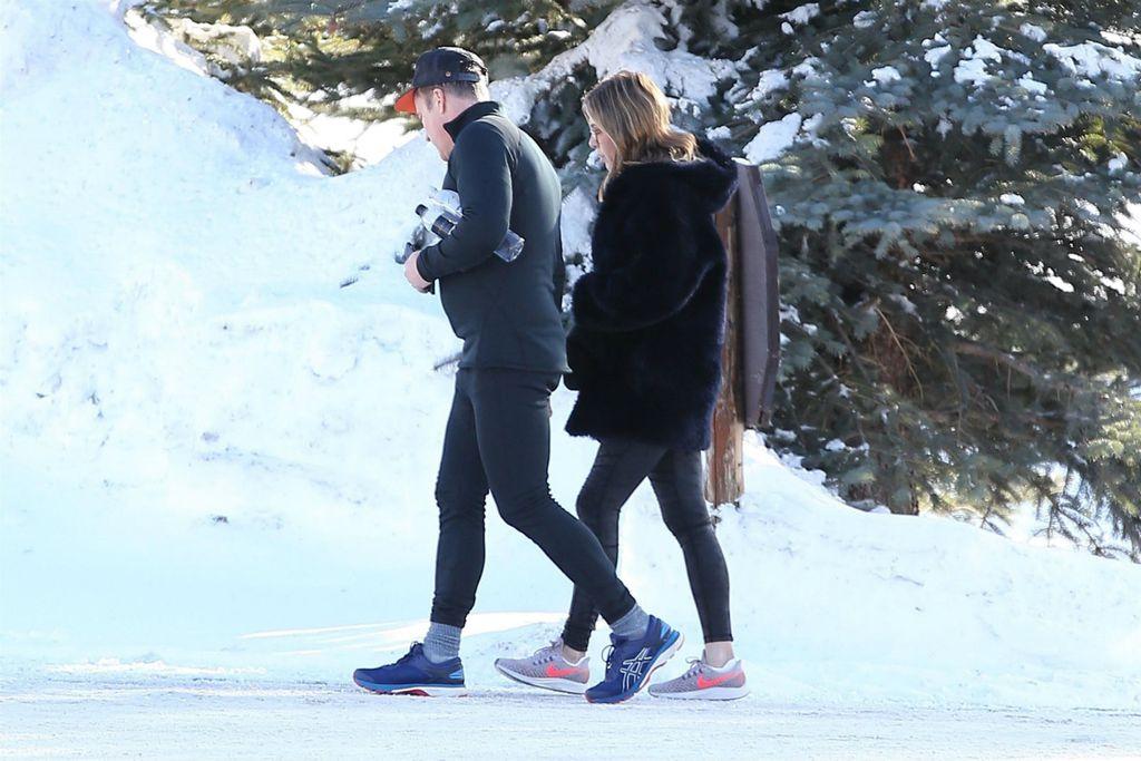 Slavna glumica po snijegu je šetala u tenisicama