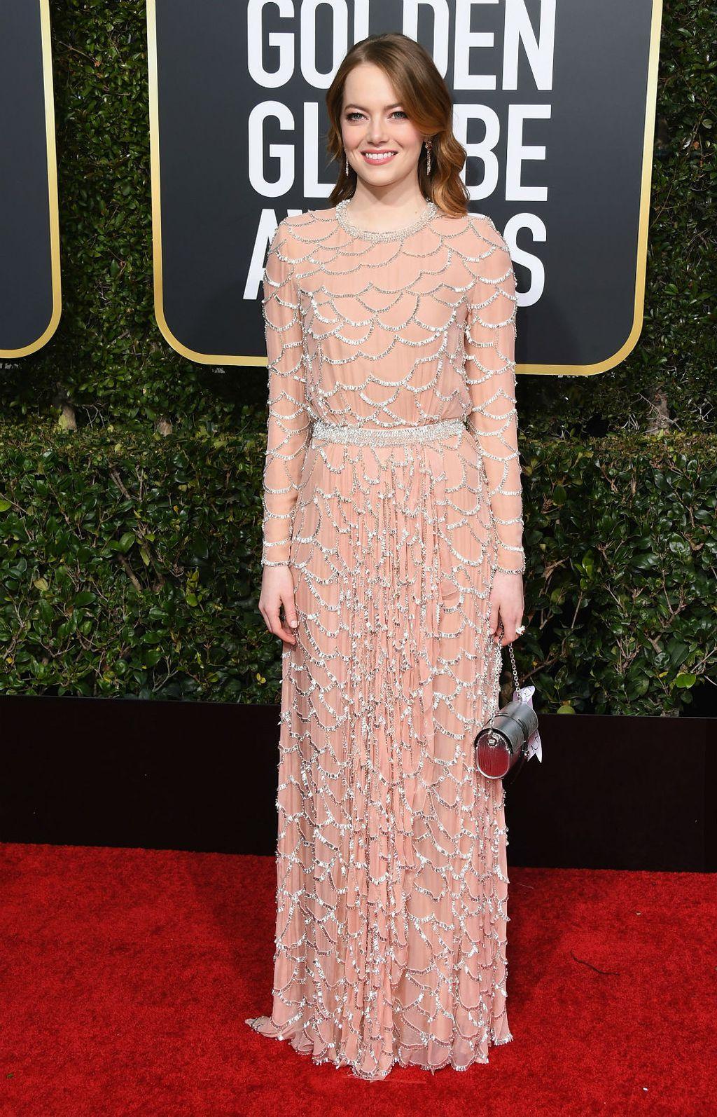 Emma Stone nosila je haljinu čija je izrada trajala 800 sati