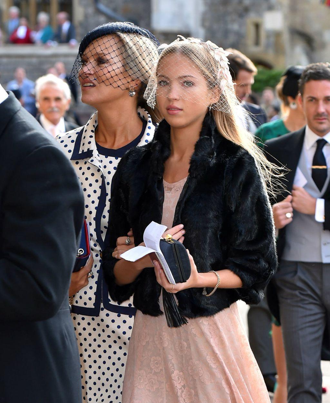 Kate i njezina kći Lila na vjenčanju princeze Eugenie