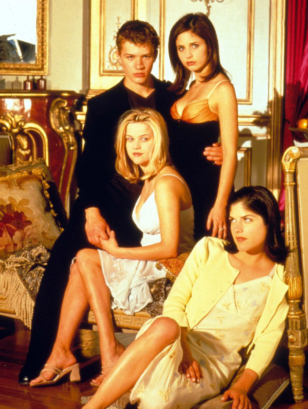 Ryan Phillippe, Sarah Michelle Gellar, Reese Witherspoon i Selma Blair glumili su u \