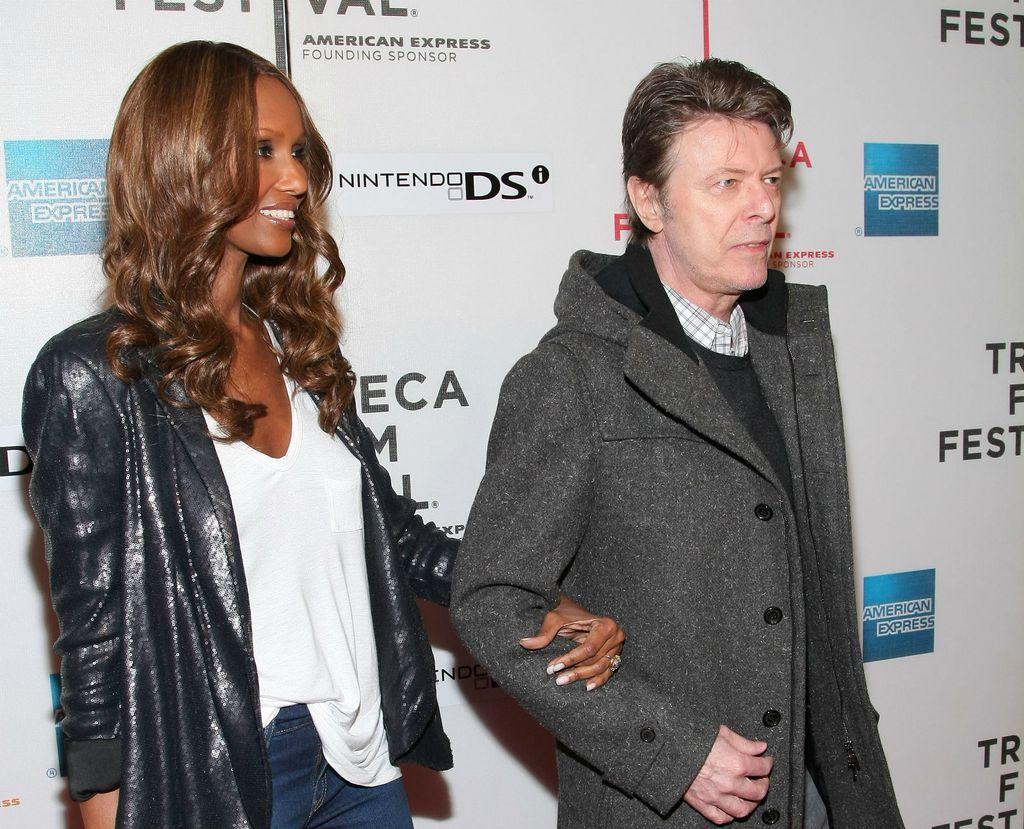 David Bowie i Iman - 3