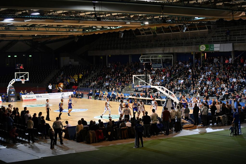 Karlsruhe Lions u nedavnoj utakmici protiv Phoenix Hagena (Foto: Peter Hennrich/DPA/PIXSELL)