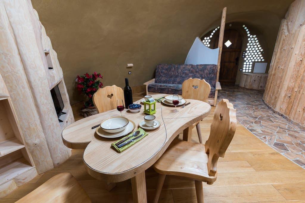 Kućica Zemljanka u Sloveniji