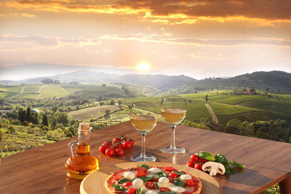 Chianti vinogradi