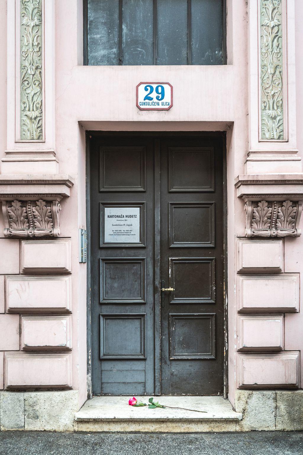 Lea Deutsch živjela je u Gundulićevoj 29 u Zagrebu