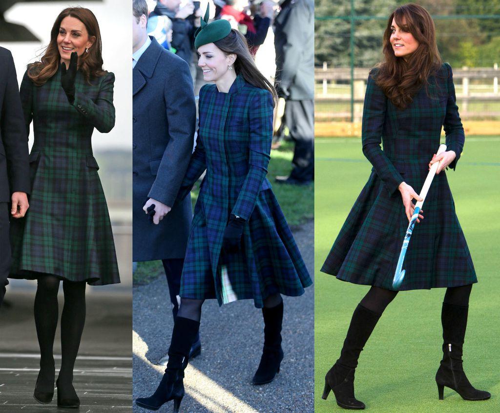 Catherine Middleton u već nošenim štiklama i kaputu starom barem šest godina - 3